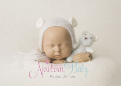 Fabric Photography Backdrop Cream| Newborn Baby Posing Limited